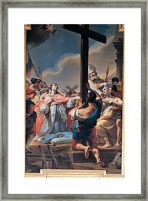 Gandolfi Ubaldo, St Helena Finding Framed Print by Everett