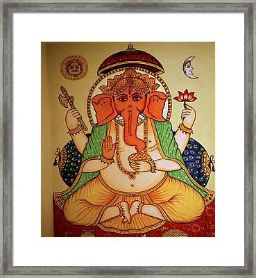 Spiritual India Framed Print