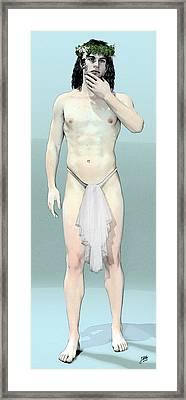The Shame Of Ganymede Framed Print