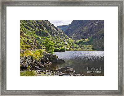Gap Of Dunloe Lake Framed Print