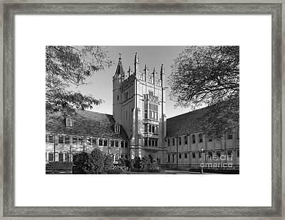 Garrett Seminary Framed Print by University Icons
