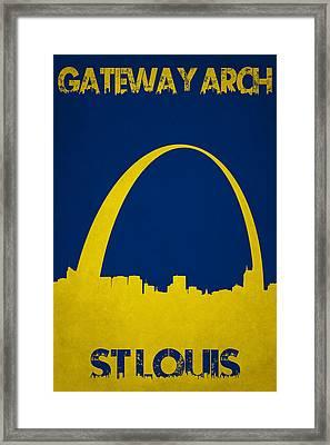 Gateway Arch Framed Print
