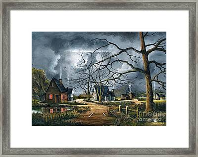 Gathering Storm Framed Print