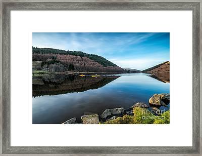 Geirionydd Lake  Framed Print
