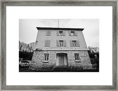 Gendarmerie Nationale Police Station Mont-louis Pyrenees-orientales France Framed Print