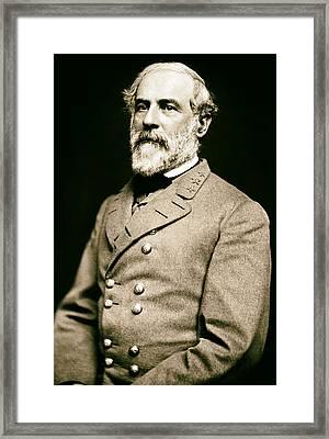 General Robert E Lee 1862 Framed Print