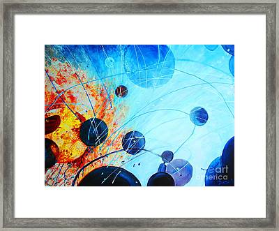 Framed Print featuring the painting Genesis by AnnE Dentler