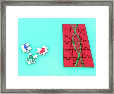 Genetic Engineering Framed Print by Christian Darkin