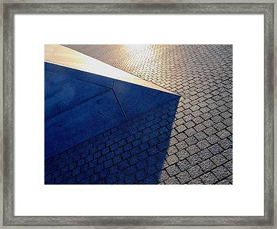 Geometry Gone Wild 2 Framed Print by Rob Michels