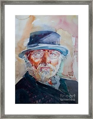 George Framed Print by Barbara McMahon