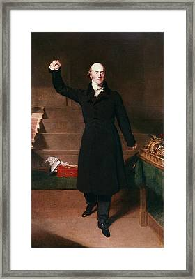 George Canning (1770-1827) Framed Print by Granger