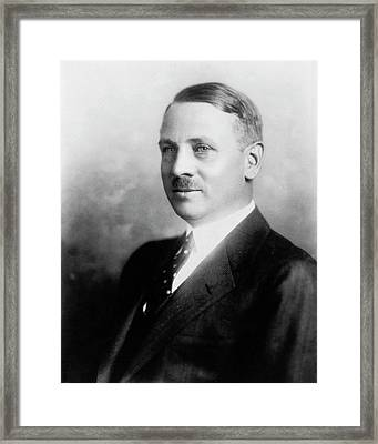 George Curme Framed Print