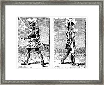 George Moore's Steam Man Framed Print by Universal History Archive/uig