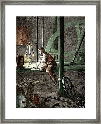 George Stephenson � The Early Years Framed Print
