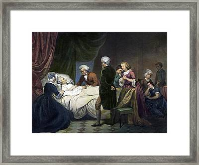 George Washington(1732-1799) Framed Print