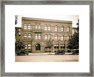 Georgetown University Law School 1915 Framed Print by Mountain Dreams