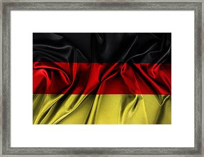 German Flag Framed Print by Les Cunliffe