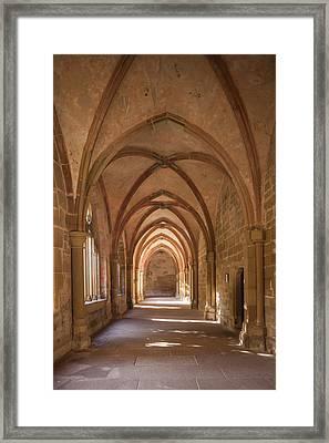 Germany, Baden-wurttemberg, Maulbronn Framed Print by Walter Bibikow