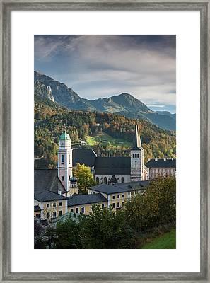 Germany, Bavaria, Berchtesgaden Framed Print by Walter Bibikow