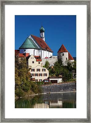 Germany, Bavaria, Fussen, Franciscan Framed Print by Walter Bibikow