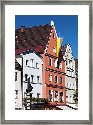 Germany, Bavaria, Fussen Framed Print by Walter Bibikow