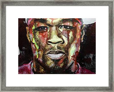 Get Rich Or Die Tryin' Framed Print by Laur Iduc