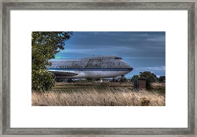 Ghost Flight Framed Print by Nigel Jones