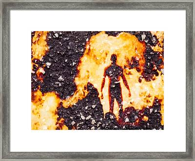 Ghost Man Framed Print