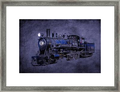 Ghost Train Framed Print