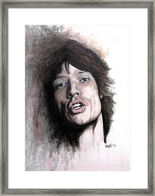 Gimme Shelter Framed Print by William Walts