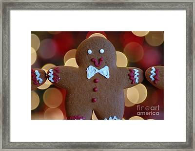 Ginger-bokeh Framed Print by Amy Cicconi