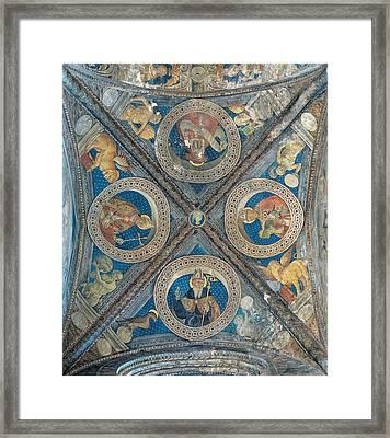 Giovan Pietro Da Cemmo, St Ambrose, St Framed Print by Everett