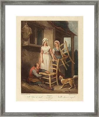 Giovanni Vendramini After Francis Wheatley British Framed Print by Quint Lox
