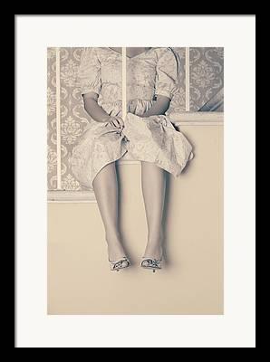 Stairrail Framed Prints