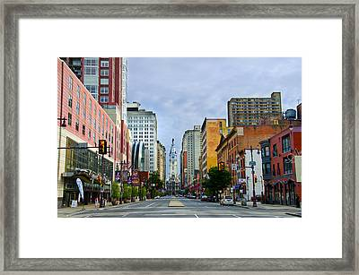 Give My Regards To Broad Street Framed Print