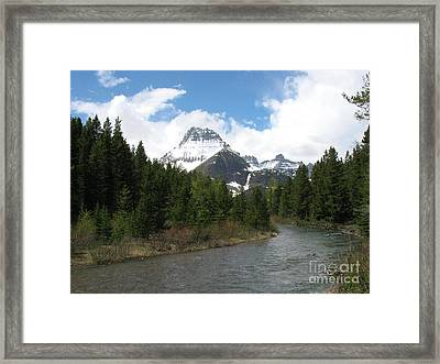 Glacier National Park Framed Print by Russell Christie