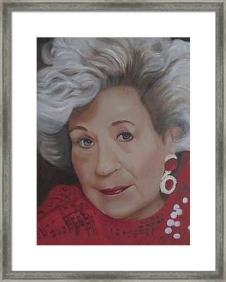 Framed Print featuring the painting Glamour by Sharon Schultz