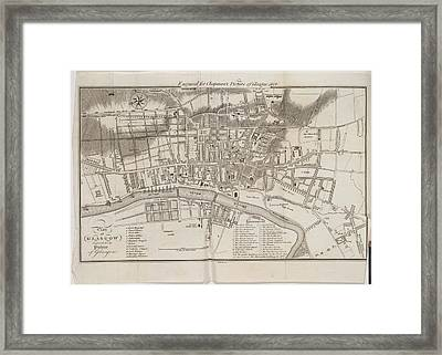Glasgow Framed Print