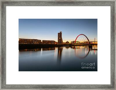 Glasgow Clyde Arc  Framed Print by John Farnan