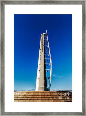 Glasgow Tower Framed Print by John Farnan