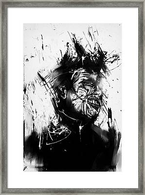 Glasswall Framed Print