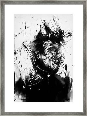 Glasswall Framed Print by Balazs Solti