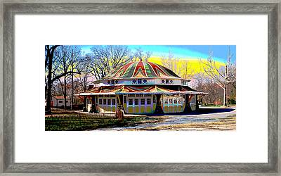 Glen Echo Park Framed Print