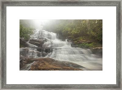 Glen Falls Framed Print by Doug McPherson