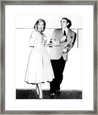 Glen Or Glenda  Framed Print by Silver Screen
