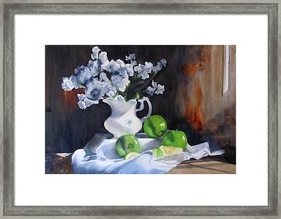 Glenda's Still Life Framed Print