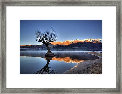 Glenorchy Framed Print by Brad Grove