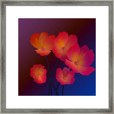 Glorious Framed Print by Latha Gokuldas Panicker