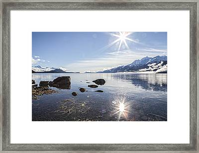 Glorious Sun Framed Print