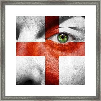 Go England Framed Print
